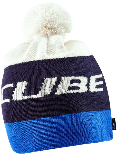 Cube Tophue Hovedbeklædning blå/hvid